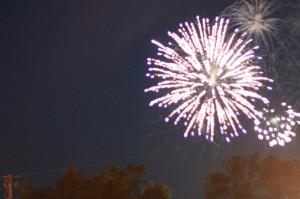 Pequot Lake Fireworks